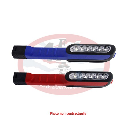 Pen work light red or blue 6+1 LED