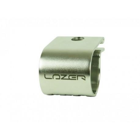 LAZER - FIXATION TUBE LAZER - 76mm - NOIR