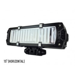 LAZER - Reeded Lens KIT - 15 degrees - Horizontal Lamp Orientation (All Triple-R Lights)