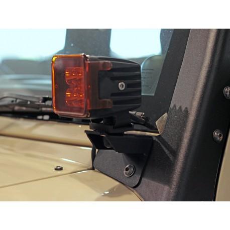 Jeep Wrangler JK/JKU Windshield Spot Light Brackets