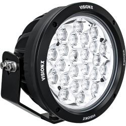"""SINGLE 8.7"""" 24 LED LIGHT CANNON GEN 2 USING DTP CONNECTOR 9-32V DC"""