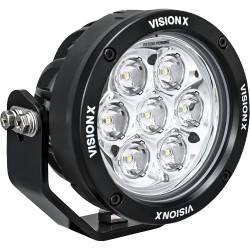 """SINGLE 4.7"""" 7 LED LIGHT CANNON GEN 2 USING DT CONNECTOR 9-32V DC"""