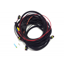 Four-Lamp Harness Kit - with Splice (Low Power, Long, 12V)