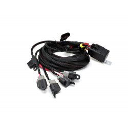 LAZER - Four-lamp 'Carbon' harness kit with switch