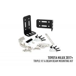 Lazer - Toyota Hilux (2017+) - Kit de montage dans le pare-chocs