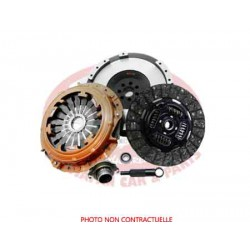 CLUTCH KIT STRENGTHENS WITH SINGLE MASS FLYWHEEL MITSUBISHI PAJERO III (3.2 DID) EXTREME OUTBACK (Organic)
