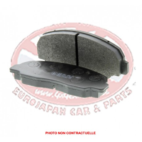 BRAKE PADS Front - For ventilated disc (Z)